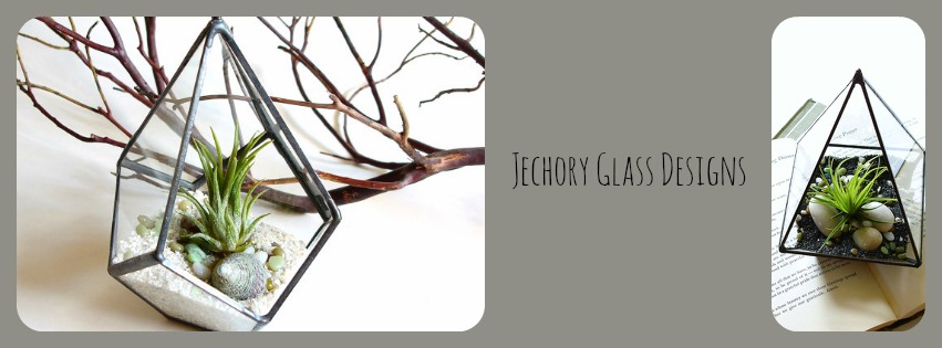 Jechory Designs - Fused Dichroic Glass Jewelry